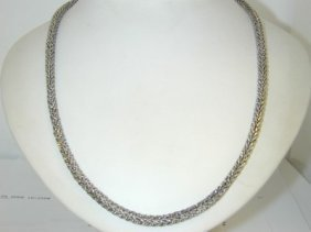 12: Silver Necklace!!