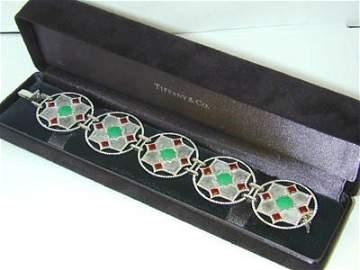 135: Tiffany & Co 18k Gold Paloma's Zellige Bracelet!!