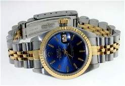 40: Rolex DateJust Lady18K 2-toneGold,Stainless Steel W