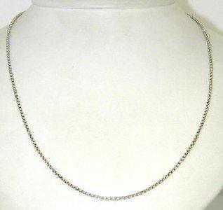 22: David Yurman Silver Necklace