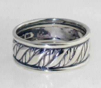 23: David Yurman Silver Ring