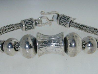 6: Silver Bracelet
