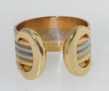 22: Cartier 18K Yellow Gold Ring
