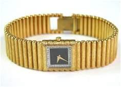 273 Juvenia 18K Yellow Gold Diamond Watch