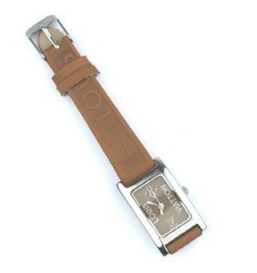 8: Louis Vuitton Stainless Steel, leather strap watch