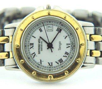 7: Raymond Weil Stainless Steel Watch
