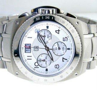 8: ESQ DateJust Stainless Steel Watch