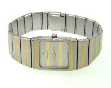 24: Baume Mercier 2- Toned Stainless Steel Watch