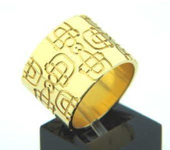 219: Gucci 18K Yellow Gold Ring