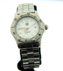 18: Tag Heuer Stainless Steel Professional Women Watch.