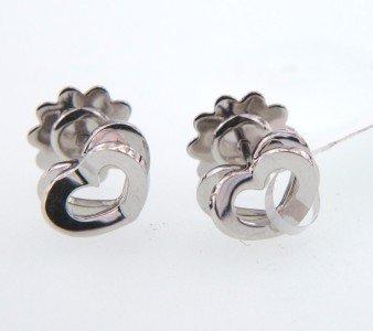 15: Asprey 18K White Gold Earrings