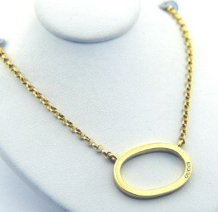 4: Gucci 18K Yellow Gold Necklace