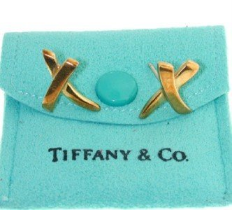 Tiffany & Co 18K Yellow Gold Earrings