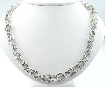 18: David Yurman Silver Necklace