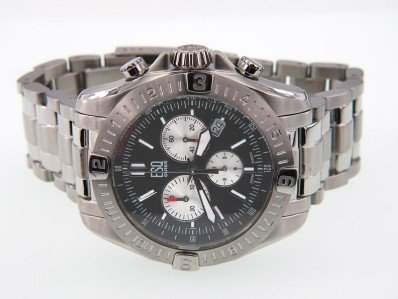 4: ESQ DateJust Stainless Steel Chronograph Watch