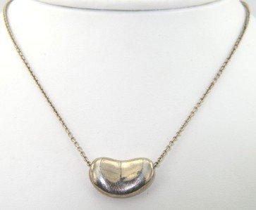8: Tiffany & Co Silver Necklace