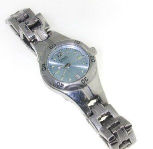 1: Fossil stainless steel watch