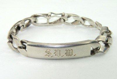 5: Tiffany & Co Silver ID Bracelet