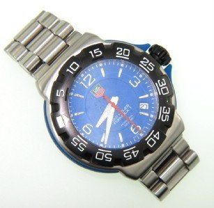 21: Tag Heuer DateJust Stainless Steel Professional Wat