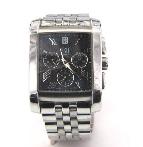 9: ESQ DateJust Stainless Steel Chronograph Watch