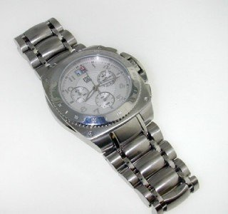14: ESQ DateJust Stainless Steel Watch