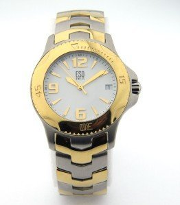 15: ESQ DateJust Stainless Steel Watch