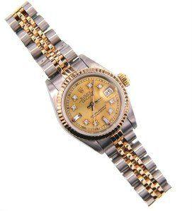 Rolex 18K Gold / Stainless Steel Datejust Ladies W