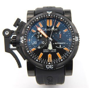 222: Graham Chronofighter Oversized Diver Watch