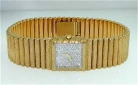135 Juvenia 18K Yellow Gold Diamond Watch