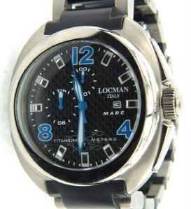 20A: Locman Italy Titanium Strap Watch