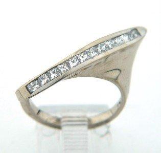 Salavetti 18K White Gold, Diamond ring