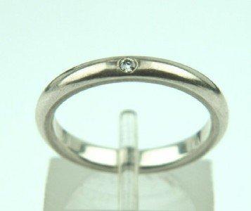 Tiffany & Co Peretti Silver, Diamond Ring.