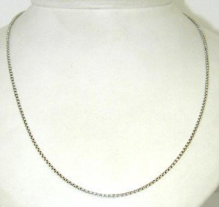 16A: David Yurman Silver Necklace
