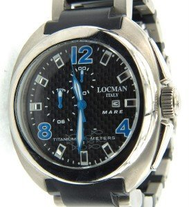 9: Locman Italy Titanium Strap Watch