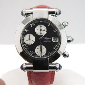 193: Chopard Stainless Steel Chronograph Watch