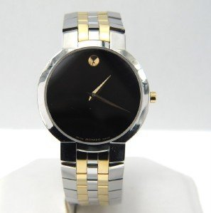 17: Movado 2-Tone Stainless Steel Quartz Watch.