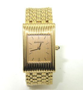 232: Boucheron 18K Yellow Gold Watch