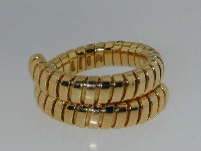 20: BVLGARI 18K Yellow Gold Ring