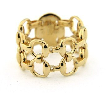 10A: Gucci 18K Yellow Gold Ring