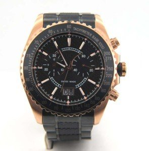 12A: Guess Stainless Steel,Chronograph Men's Watch
