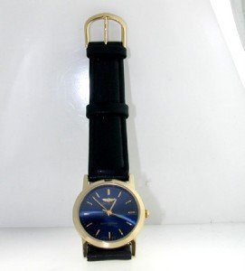 1: Invicia Gold Plated & Stainless Steel Strap Watch.