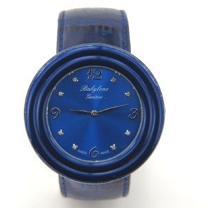 7: Babylone Geneve Leather Strap watch