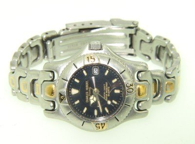 11: Charles Hubert Stainless Steel Watch