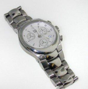 23: ESQ DateJust Stainless Steel Watch