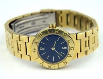 165: Bvlgari 18K Yellow Gold Watch