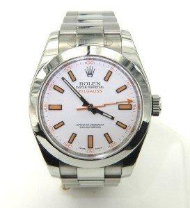 227: Rolex Milgauss Stainless Steel WristWatch