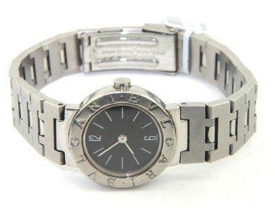 11: 11: Bvlgari Stainless Steel Watch