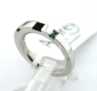 20: 20: Asprey 18K White Gold, Multi - Colored Stone Ri - 4