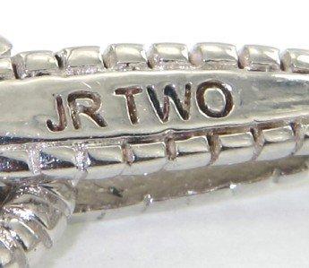 9: Judith Ripka 18K Gold / Silver, Citrine Bracelet - 4