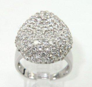 2: Salavetti 18K White Gold Diamond Ring